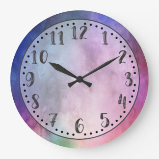 Watercolor Two Wall Clock