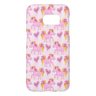 Watercolor Unicorns Samsung Galaxy S7 Case