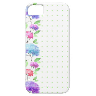 Watercolor vertical seamless pattern border iPhone 5 cases