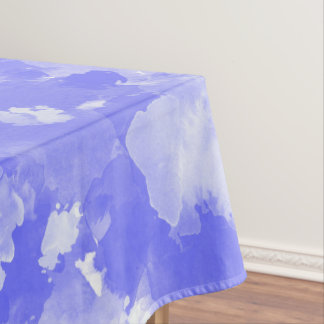 watercolor violet stains  pattern tablecloth