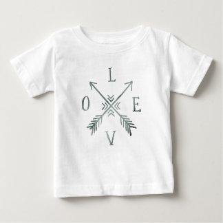 Watercolor Wanderlust Adventure III | Love Baby T-Shirt