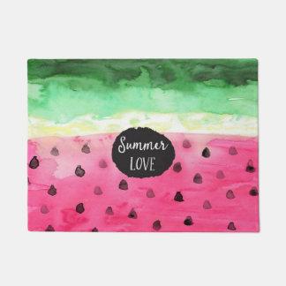 Watercolor Watermelon Doormat