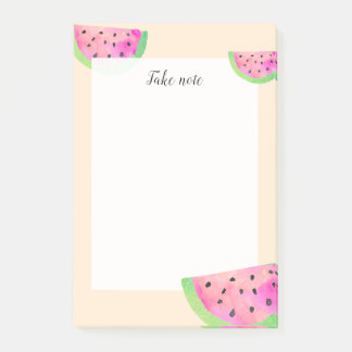 Watercolor Watermelons Post-it Notes