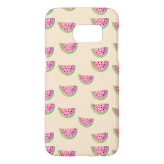 Watercolor Watermelons Samsung Galaxy S7 Case