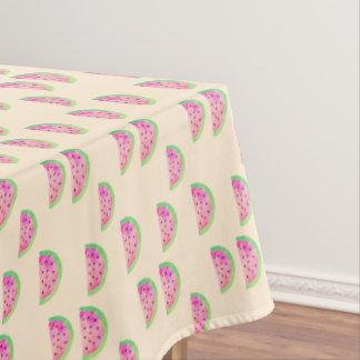 Watercolor Watermelons Tablecloth