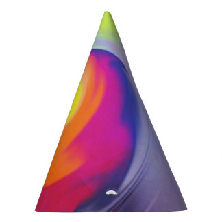 Watercolor Wave - Party Hat