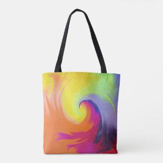 Watercolor Wave - Tote Bag
