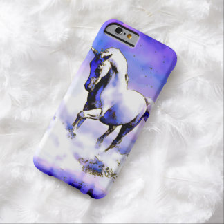 Watercolor White Horse iPhone 6 Case