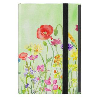 Watercolor Wildflowers iPad Case