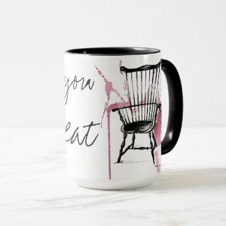 Watercolor Windsor Chair Mug