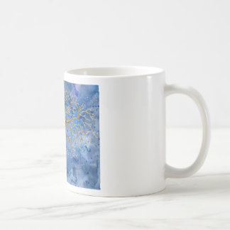 Watercolor Winter Oak Tree Coffee Mug