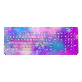 Watercolor Wireless Keyboard
