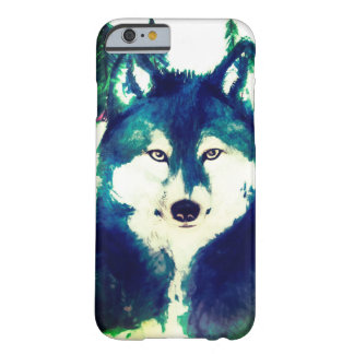 Watercolor wolf iphone 6 case