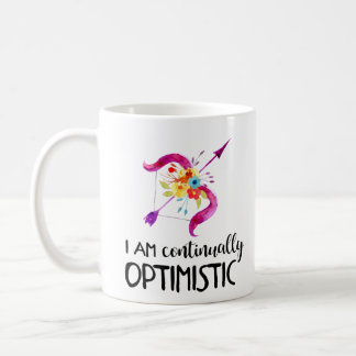 Watercolor Zodiac Affirmation Mug - Sagittarius