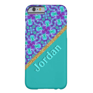 Watercolors Kaleidoscope Pattern Barely There iPhone 6 Case