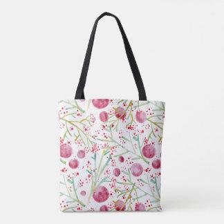 Watercolors Purse Tote Bag