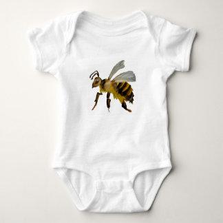 Watercolour bumble bee baby bodysuit