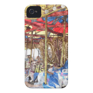 Watercolour Carousel Case-Mate iPhone 4 Case