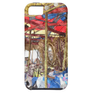 Watercolour Carousel iPhone 5 Cover