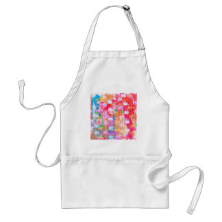 watercolour Christmas abstract torts Standard Apron
