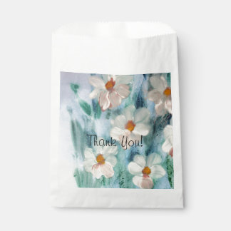 Watercolour Daisy Food Safe Cookie Bag
