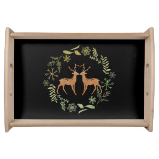 Watercolour Deer Serving Tray