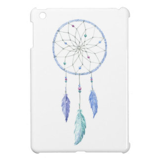 Watercolour Dreamcatcher with 3 Feathers Case For The iPad Mini