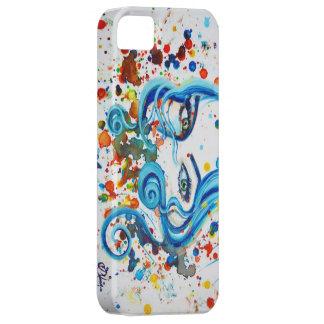 Watercolour eyes phone case