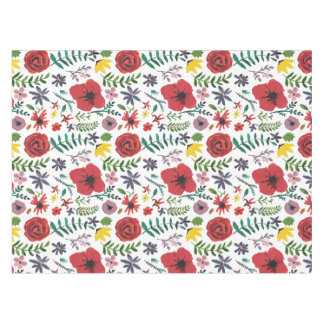 Watercolour Florals Design Tablecloth