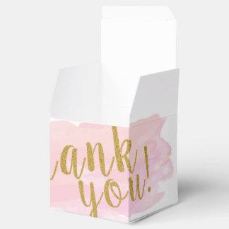 Watercolour Gift Box Thank You