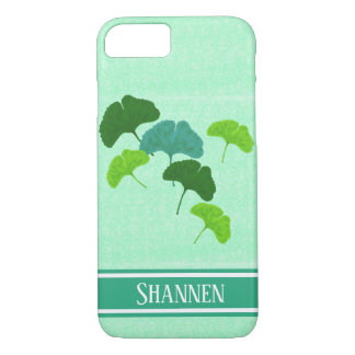 Watercolour Ginkgo Biloba iPhone Case