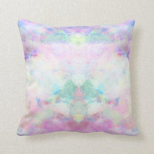 Watercolour Girly print pillow