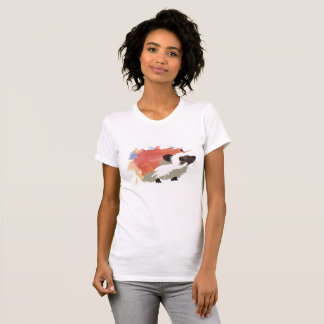 Watercolour Hedgehog T-Shirt