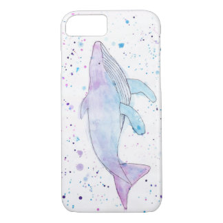 Watercolour Humpback Whale IPhone 7 Case