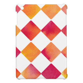 Watercolour Ink of square - water color sample iPad Mini Cover