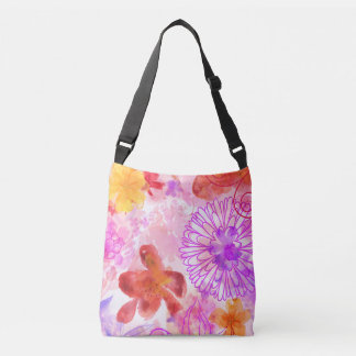 Watercolour Mum Crossbody Bag