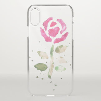 Watercolour Rose (Kimberly Turnbull Art) iPhone X Case