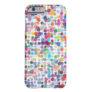 Watercolour Splash Dot Pattern iPhone 6/6s Cases