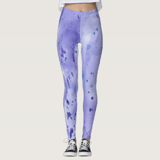 Watercolour Splatter Leggings