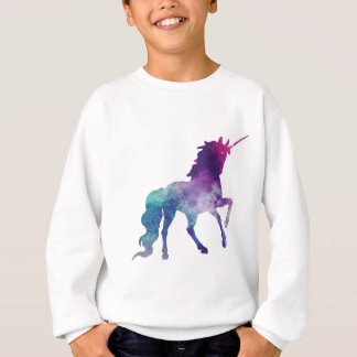 Watercolour Unicorn Sweatshirt