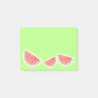 Watercolour Watermelons - Post It Notes