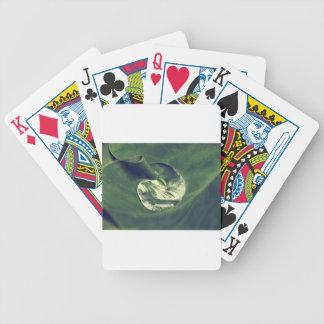 Waterdrop Bicycle Playing Cards