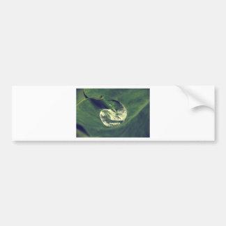Waterdrop Bumper Sticker