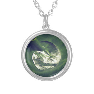 Waterdrop Silver Plated Necklace