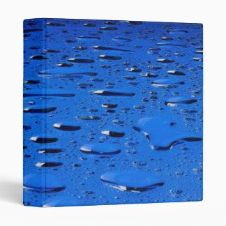 Waterdrops Avery Binder