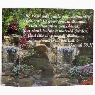 Watered Garden Binder