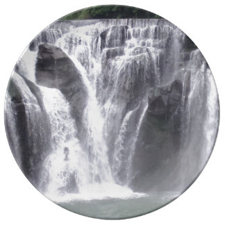 "Waterfall 10.75"" Decorative Porcelain Plate"