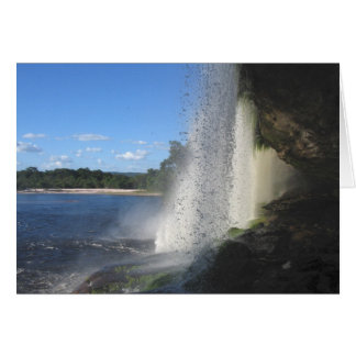 Waterfall 1, Venezuela Jungle Landscape Fine Art Card