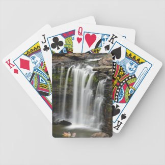 Waterfall 2 bicycle playing cards