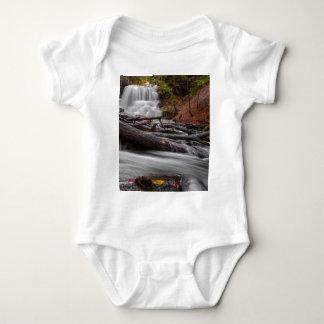 Waterfall 3 baby bodysuit